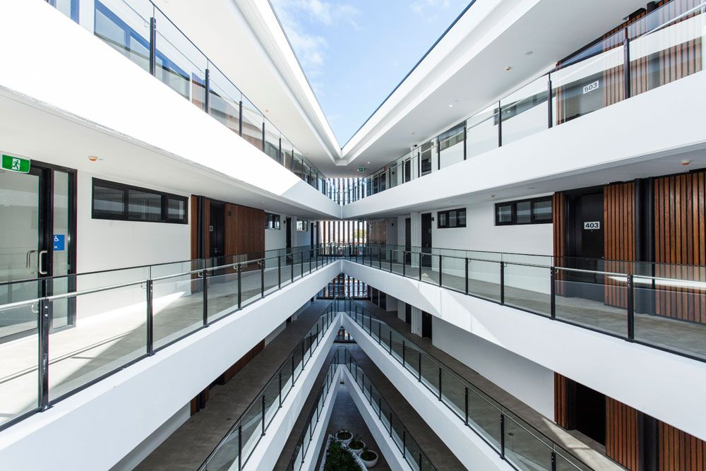 Marvelous Atrium Apartment   Infinity Constructions   Ritek Wall System