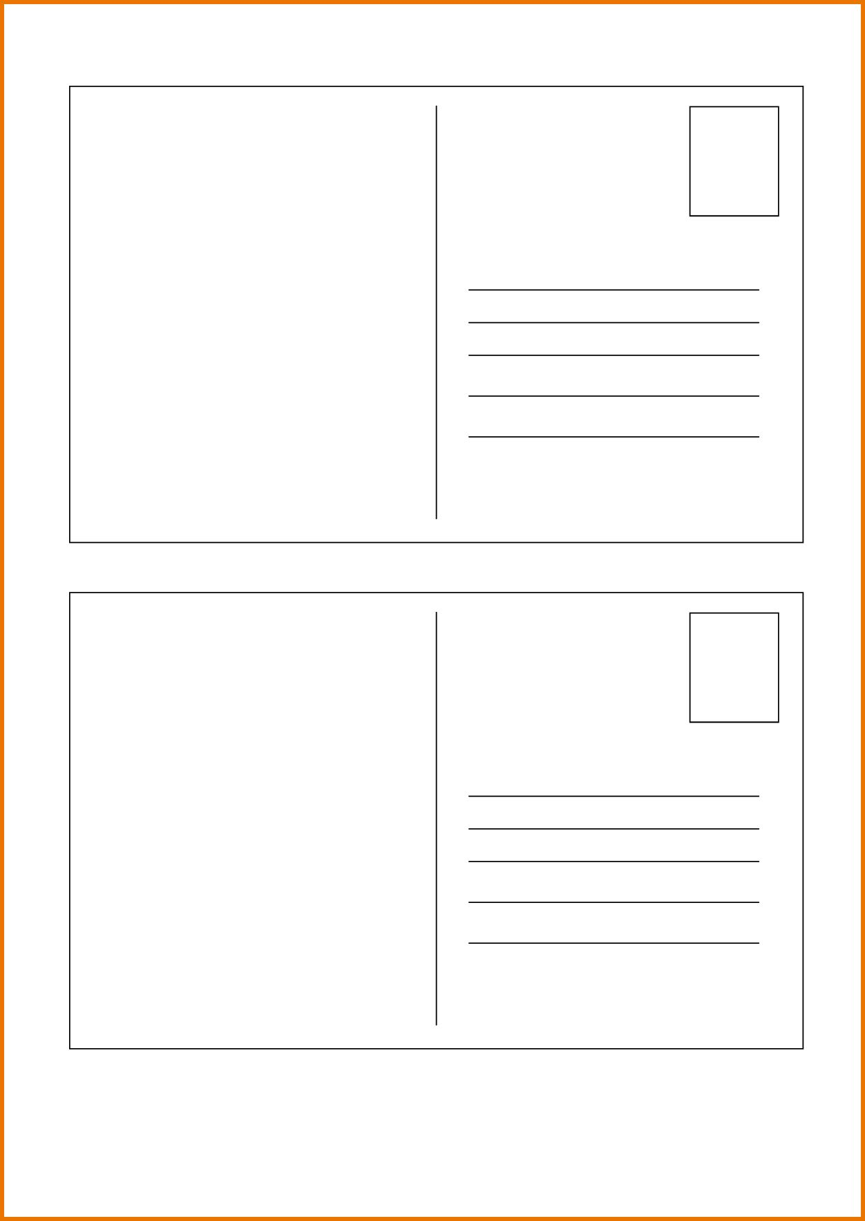 036 Template Ideas Blank Postcard Free Classic White With Within Microsoft Word 4x6 Postcard Templ Postcard Template Postcard Template Free Printable Postcards