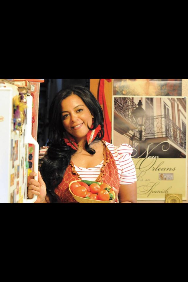 Me!! Zella Palmer Cuadra author of New Orleans con Sabor Latino: The History and Passion of Latino Cooking