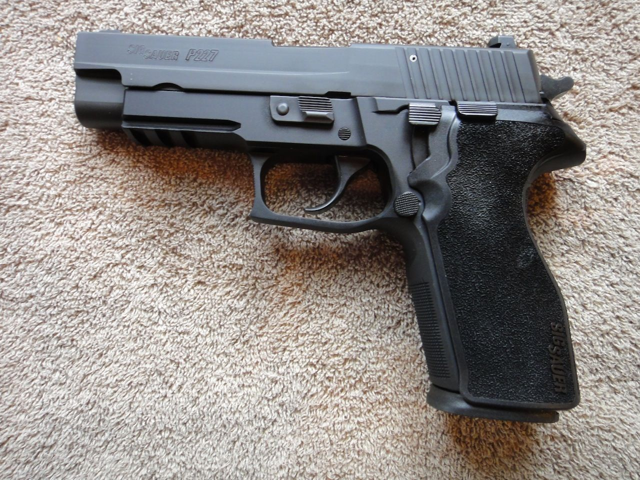 Sig Sauer P227Loading that magazine is a pain! Get your Magazine speedloader today! http://www.amazon.com/shops/raeind