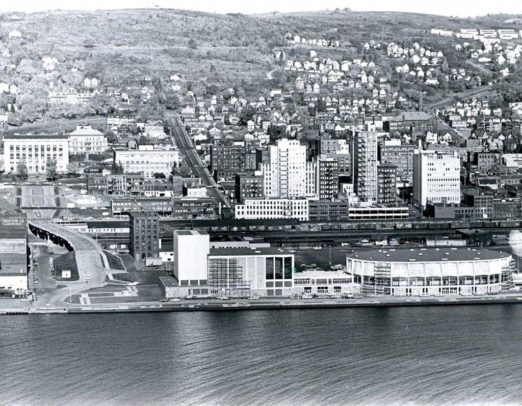 Photo Of Downtown Duluth October 1966 News Tribune Attic Duluth North Shore Minnesota Boundary Waters Canoe Area Wilderness