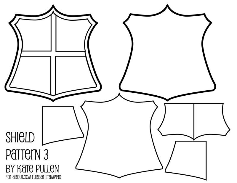 Free shield templates for DIY - who knew shields could be so ...
