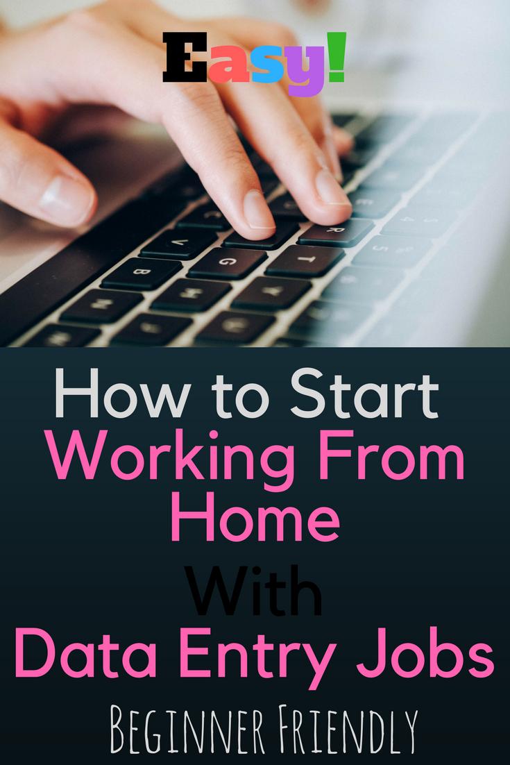 Data Entry Jobs Legit Make Money Typing Online Jobs From Home
