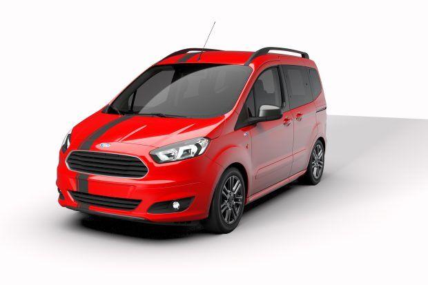 Yeni Ford Tourneo Courier Blackline Serisi Turkiye De 67 Bin Tl
