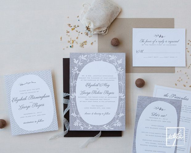 hello!lucky wedding invitations and save the dates