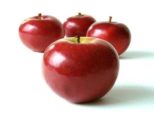 Como quitar cera y pesticidas de una manzana - Ecocosas