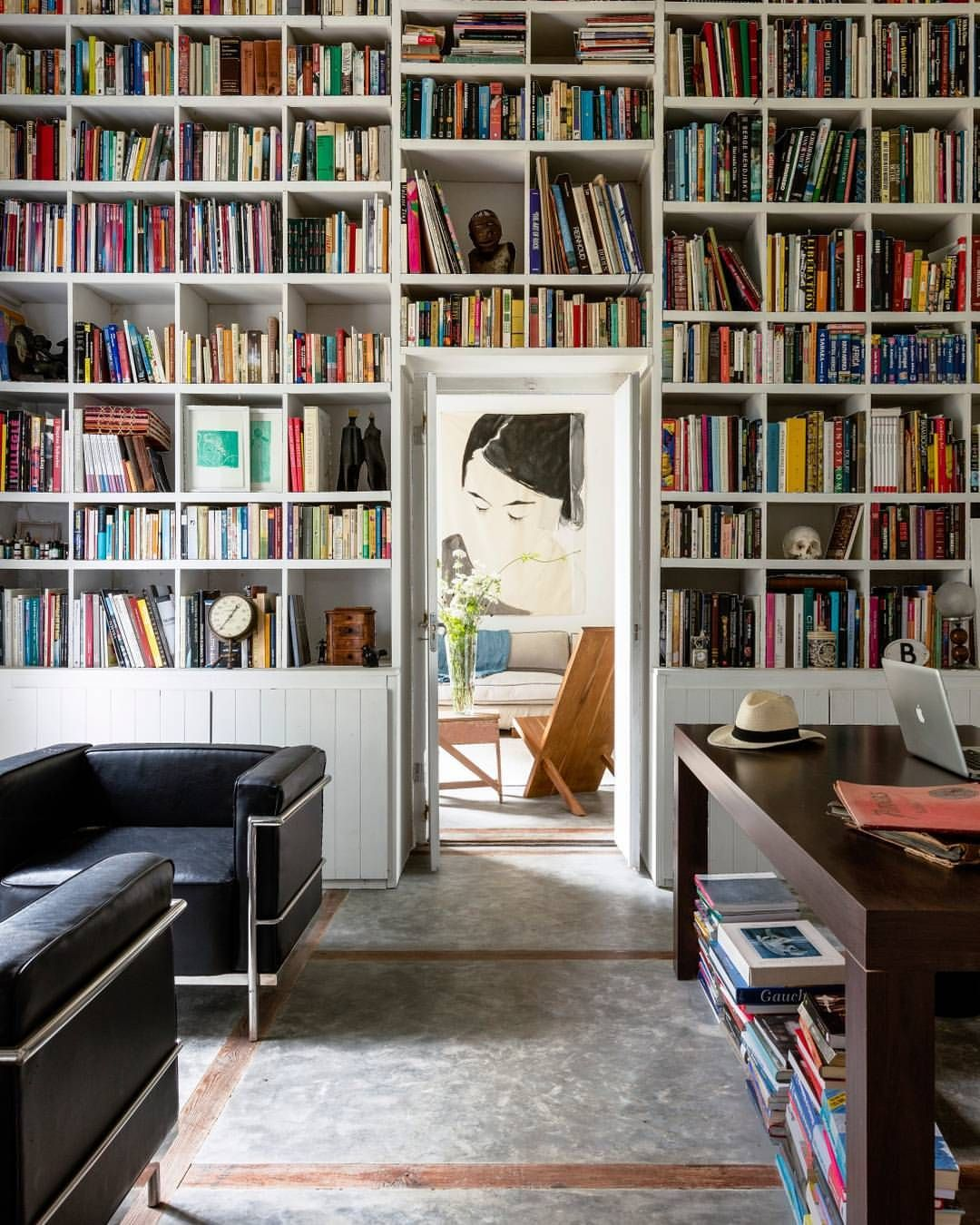 Elle Decor Bookshelves: Pin By Sarah McCall On For The Love Of Books... In 2019