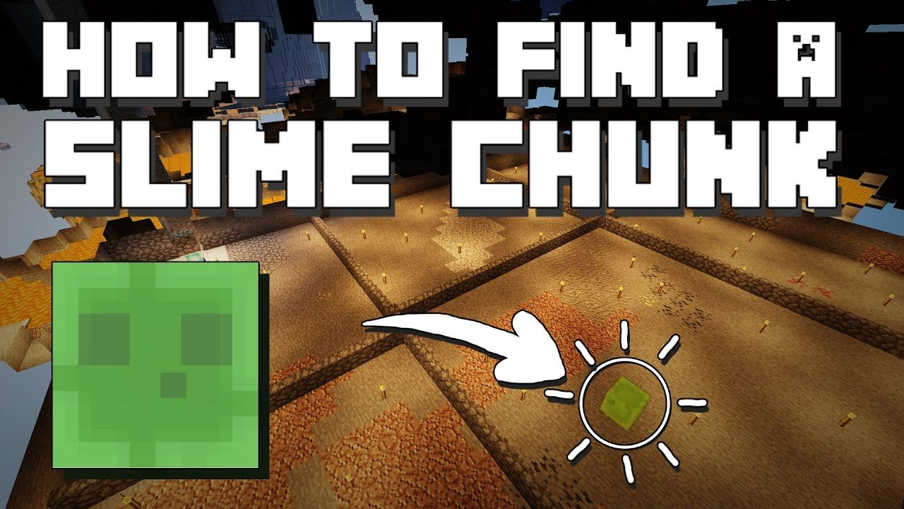 Minecraft: How to find a Slime Chunk [Without Seed