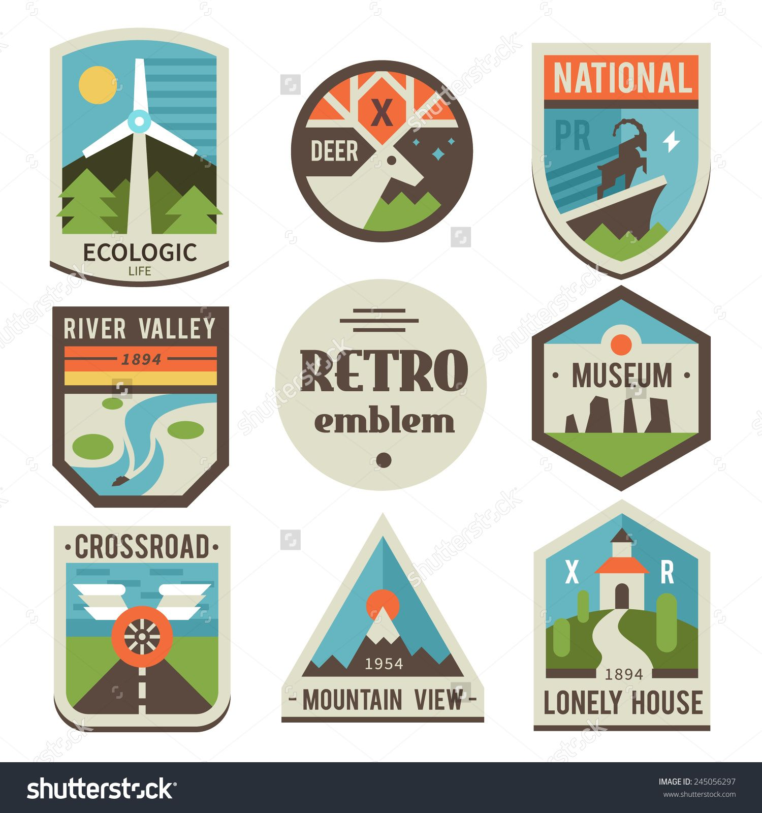 national park logos Google Search Vintage national