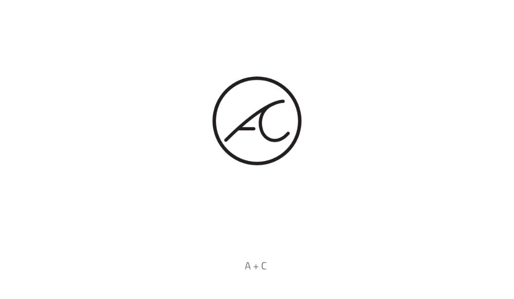 Ac Monogram Logo Monogram Logo Design Monogram Logo Letter Logo Design