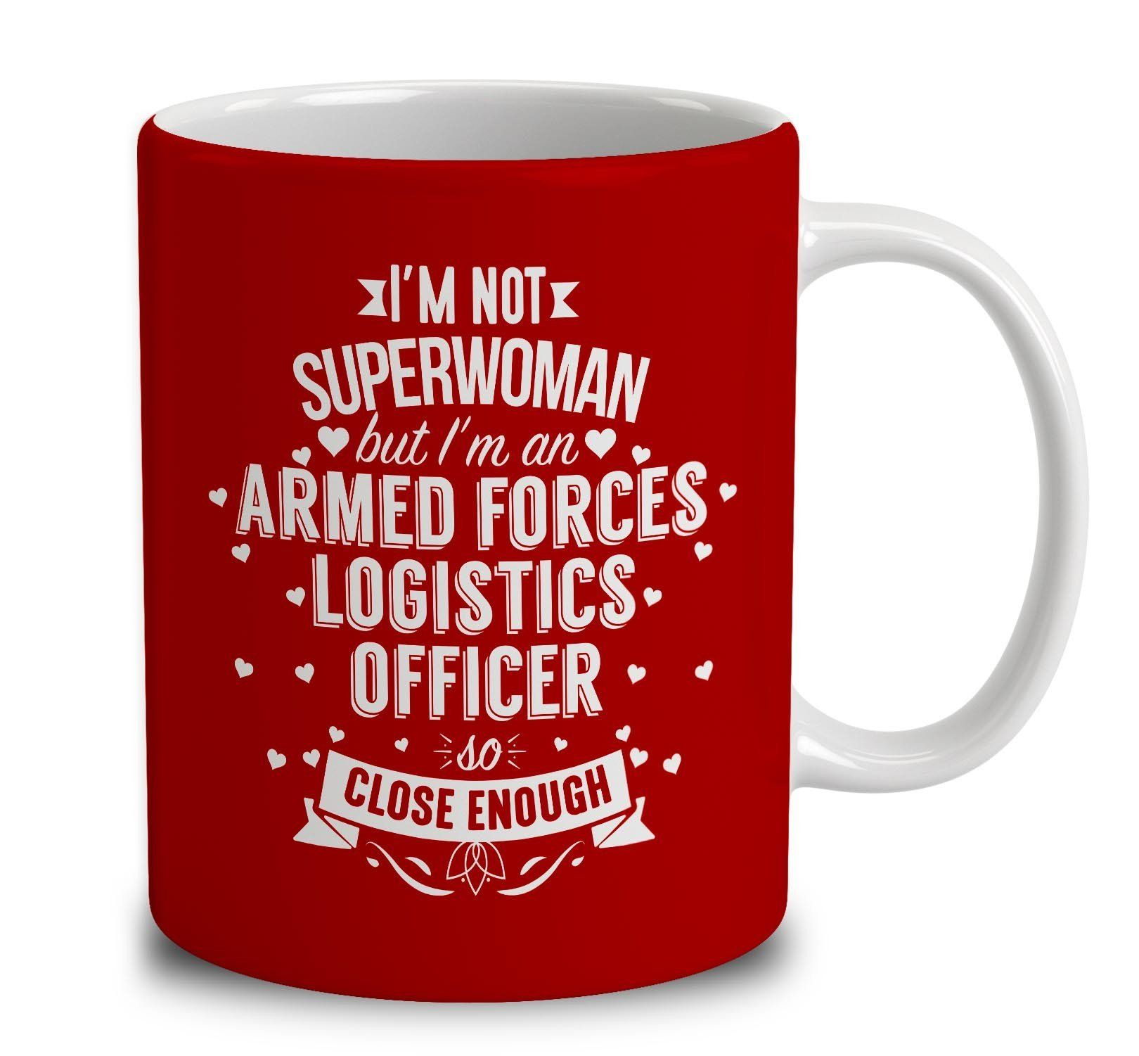 IM Not Superwoman But IM An Armed Forces Logistics Officer