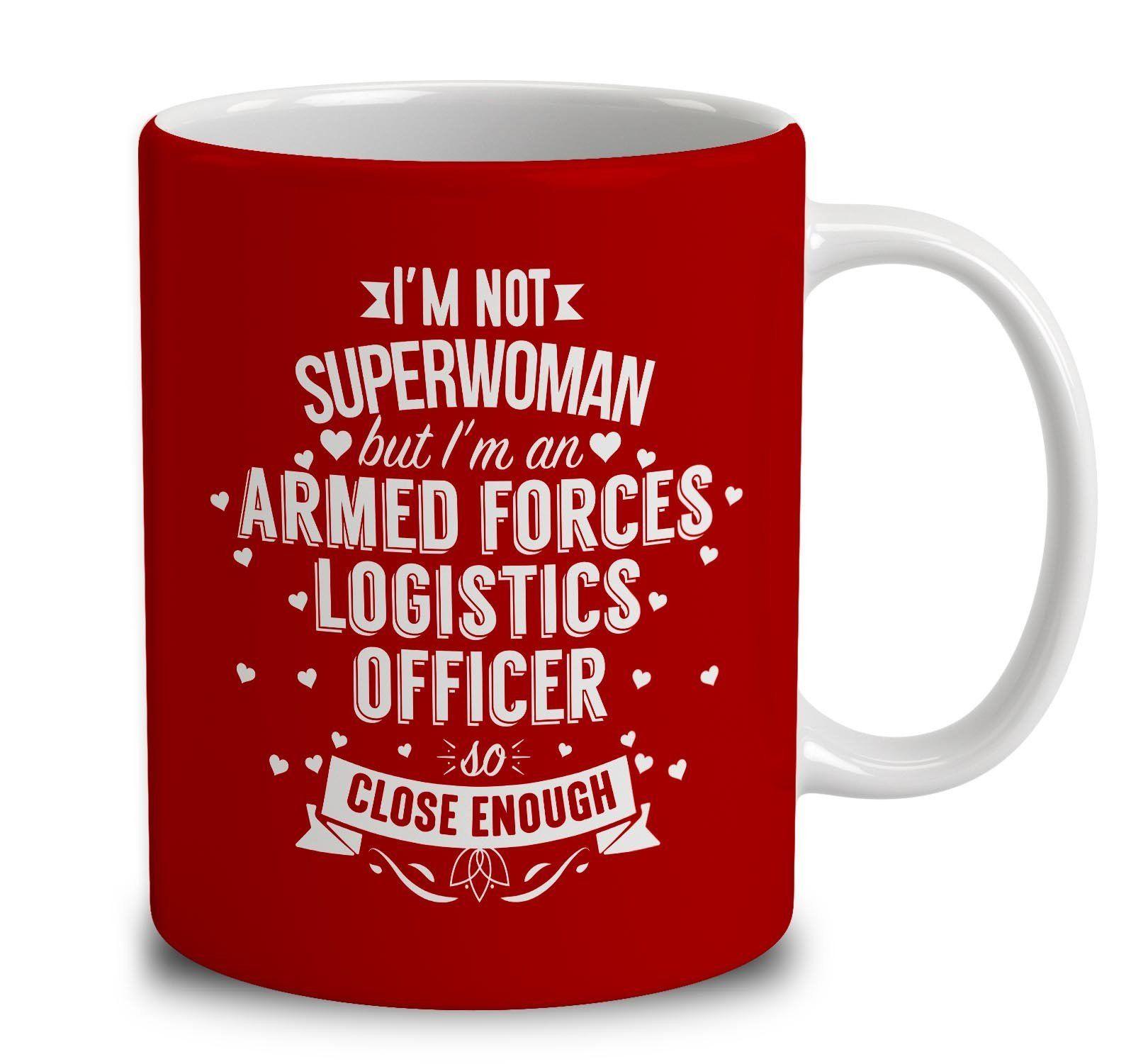 IM Not Superwoman But IM An Armed Forces Logistics Officer