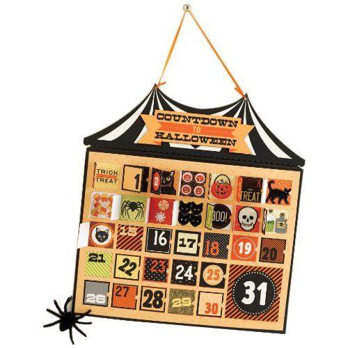 Martha Stewart Crafts Calendar, Halloween Countdown - martha stewart halloween ideas