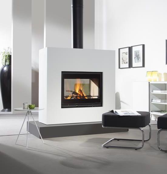 Wanders Square Tunnel Double Sided Insert Stove Stoves Uk