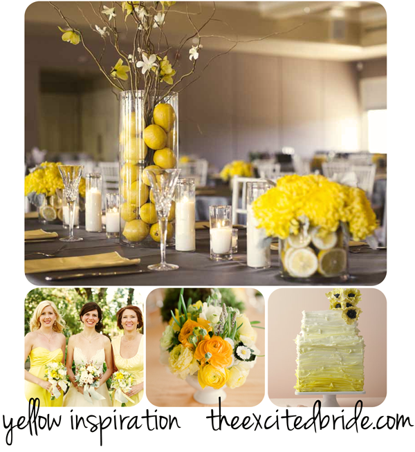 Pink swan events wedding inspiration bright and fun yellow a fresh gray and yellow wedding a good affair event design junglespirit Choice Image