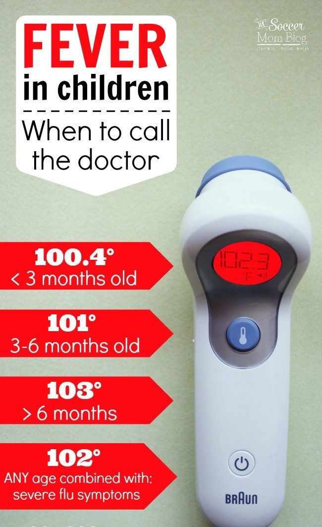 Pediatric Fever - When to Call the Doctor Preparing for a Baby