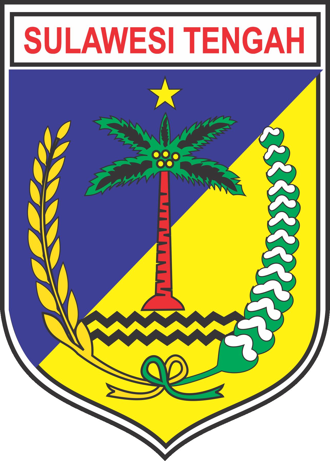 Logo Provinsi Sulawesi Tengah Vector Ai Cdr Eps Png Di 2020