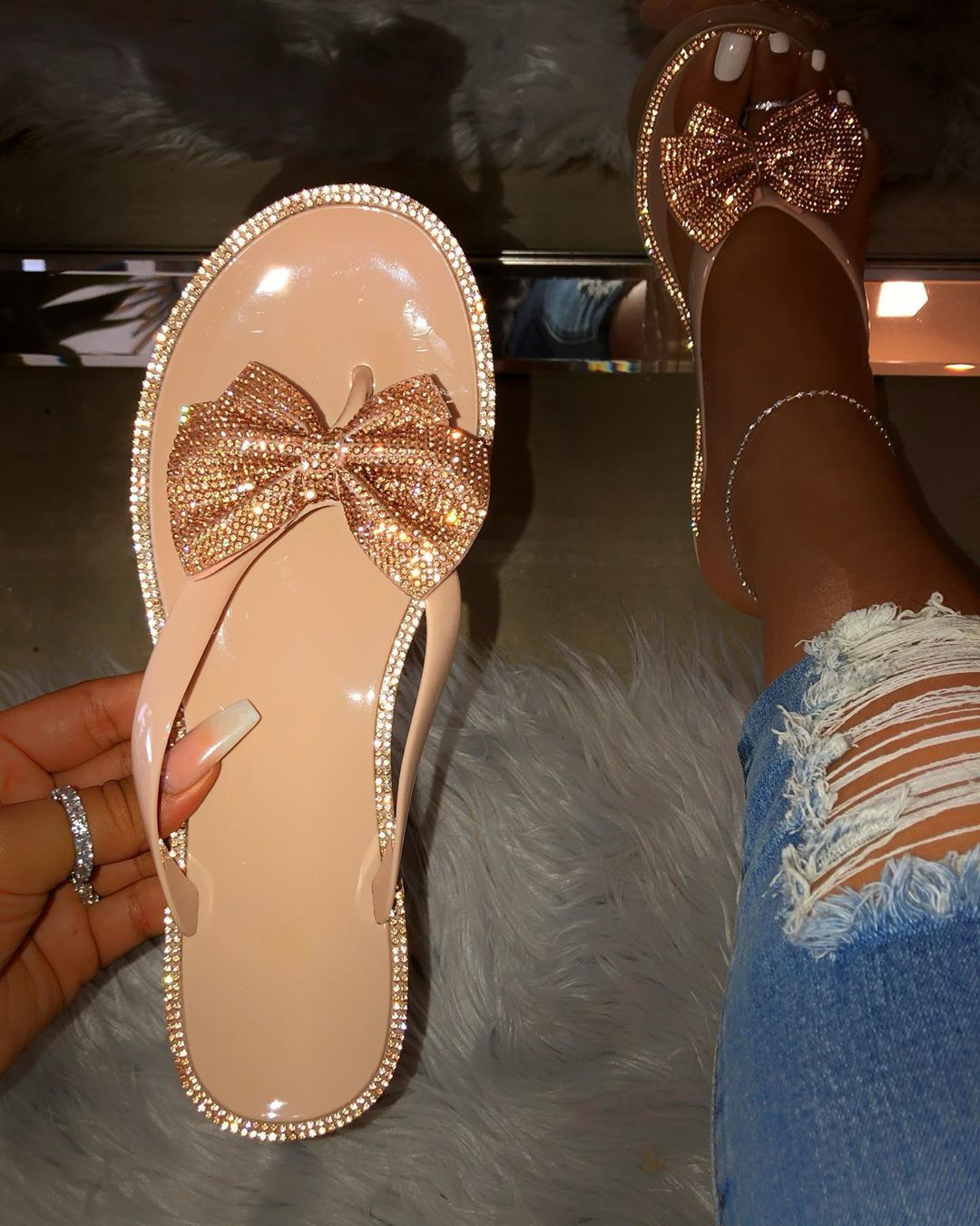 WOMENS LADIES FLAT JELLY SHOES WITH BUCKLE SANDALS BEACH 6 COLOURS