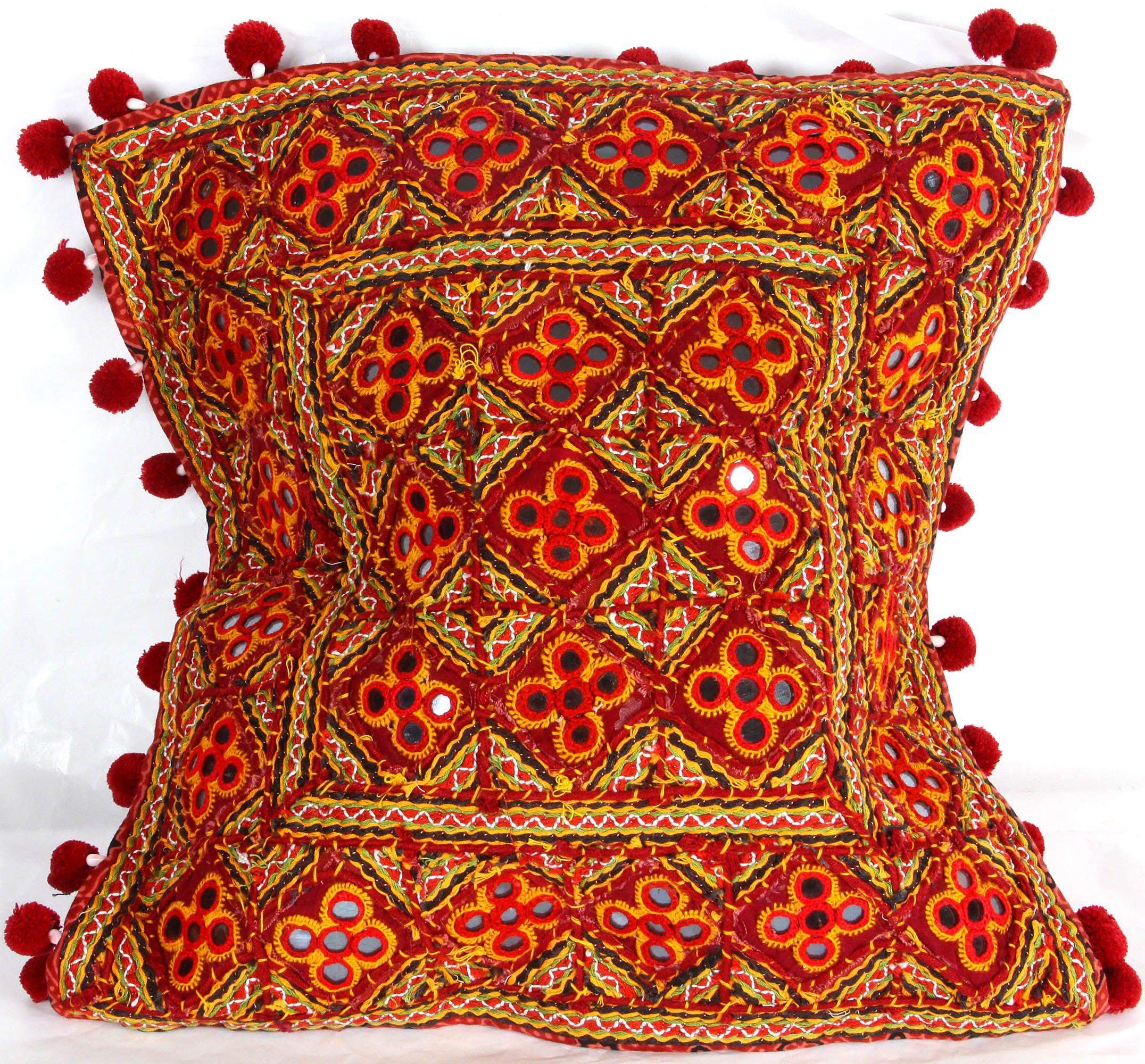 Sindhi Bedspread | Embroidery Of Kutch #sarees #indian #art #craft #fashion #dress #silk # ...