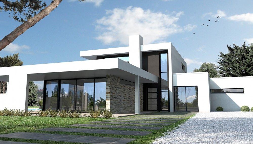superbe maison moderne | Houses-villas | Pinterest