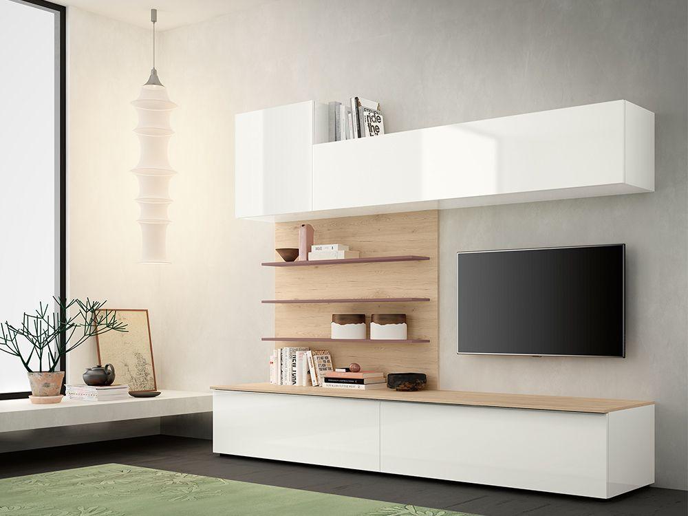 Componibili Soggiorno ~ Soggiorno moderno a libera installazione completamente