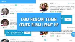 Aplikasi Android Untuk Cari Kenalan Atau Teman Cewek Russia Aplikasi Android Bahasa Asing Teman