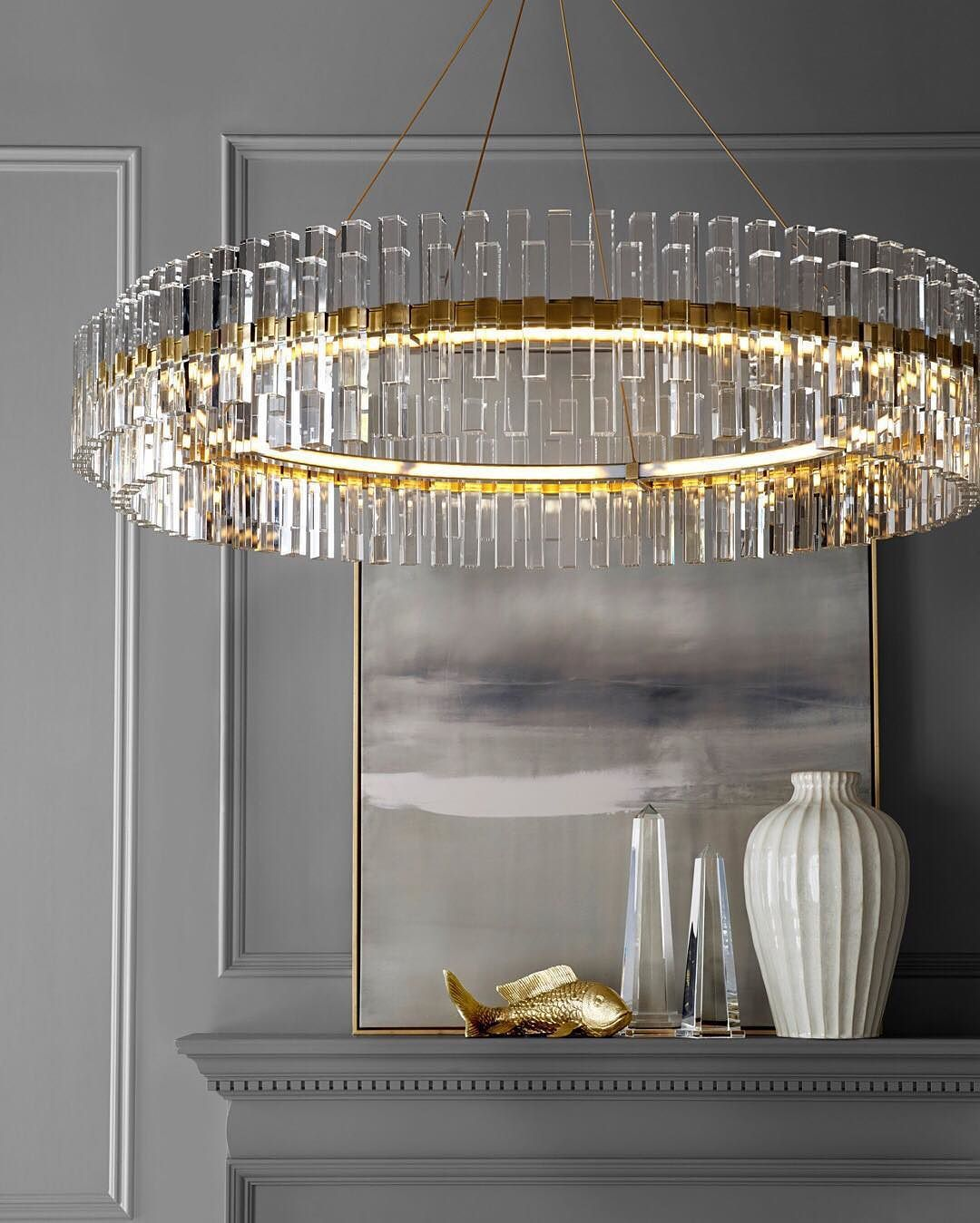 The Phoebe Crystal Chandelier Bids You Sweet Dreams Inspired By Art Deco Designs From