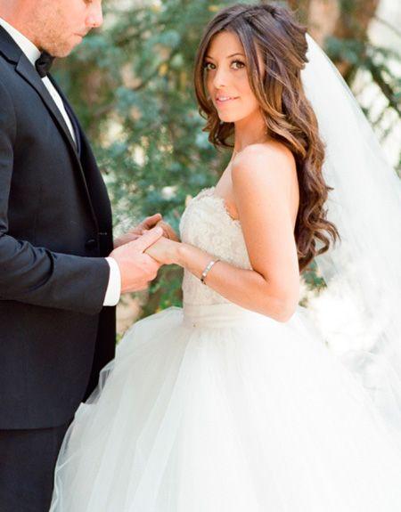 25 Peinados De Novia Con Pelo Suelto Wedding Hairstyles