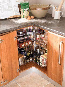 Corner Carousel 3 4 Carousel Set Kitchen Cuboard Storage System