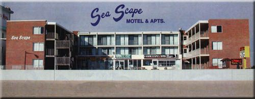 Ocean City Maryland Motels The Sea Scape Motel Oceanfront Rooms Boardwalk Lodging Accomodations Hotels Swimming Pool Restaurants Tavern