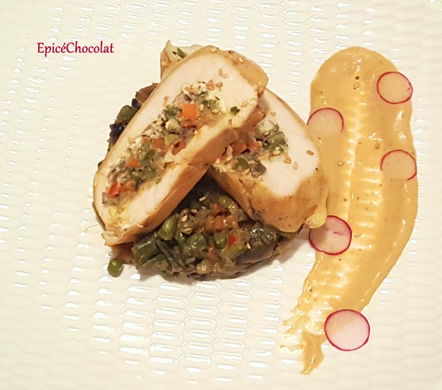Photo of CHICKEN SCALOP STUFFED WITH VEGETABLES