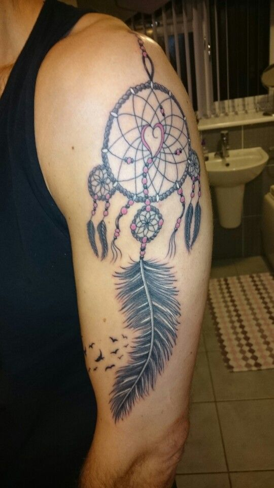 #dreamcatcher #tattoo #tattoos #ideas #designs #men #formen #menstattooideas