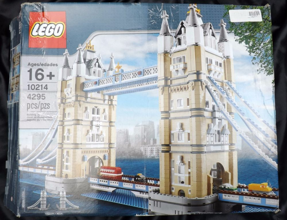 Lego Exclusives And Treasures London Tower Bridge 10214 4 295 Pieces Complete Lego Lego Tower Bridge Tower Bridge London Lego London