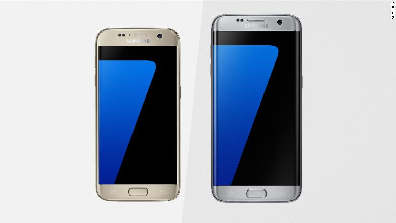 Samsung Shows Off Galaxy S7 S7 Edge Samsung Galaxy Top Smartphones Galaxy