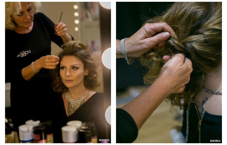 My hairstyle for Milan Fashion Week on @GlamourItalia