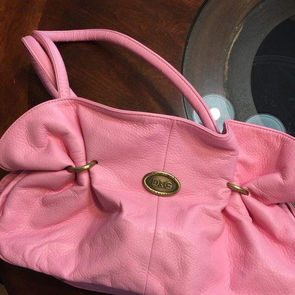 Monogrammed dolce gabbana Pink pink pink great condition Monogrammed dolce gabbana Bags Satchels
