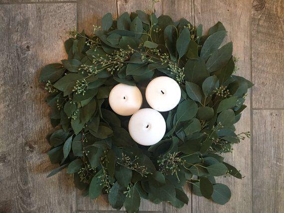 Photo of Frischer Eukalyptuskranz, gesäte Eukalyptuskranz, Silberdollarkranz, DIY-Hochzeit, frische grüne Hochzeitsdekorationen