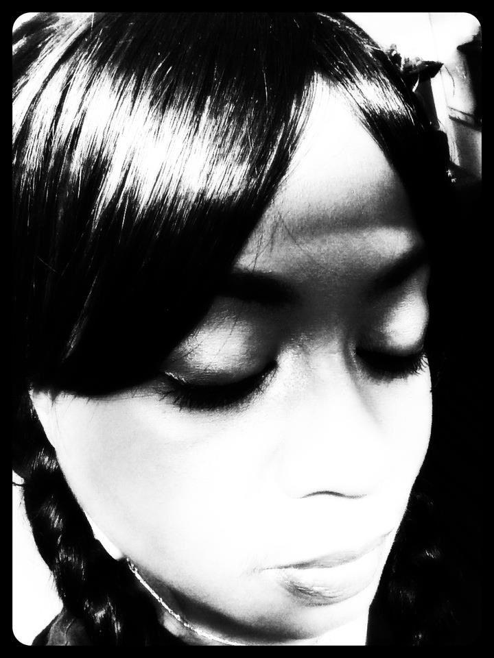 Black & White eye art
