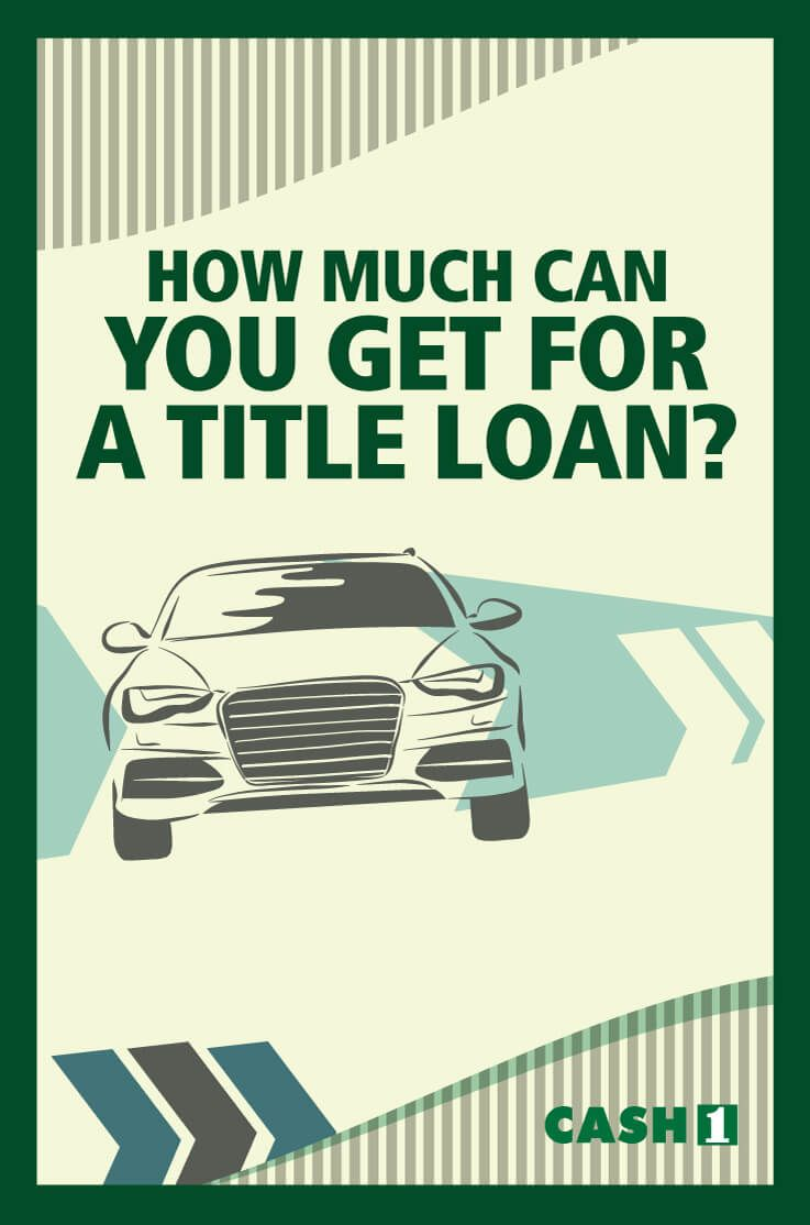 How much can i get for a title loan loan amount best