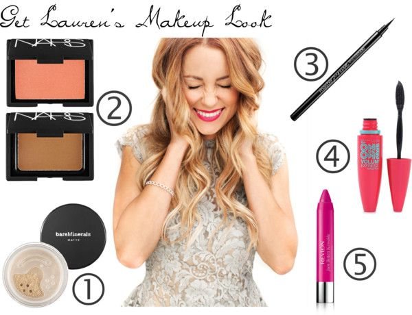 """Lauren Conrad Makeup Look"" by j-s-wilson14 on Polyvore"