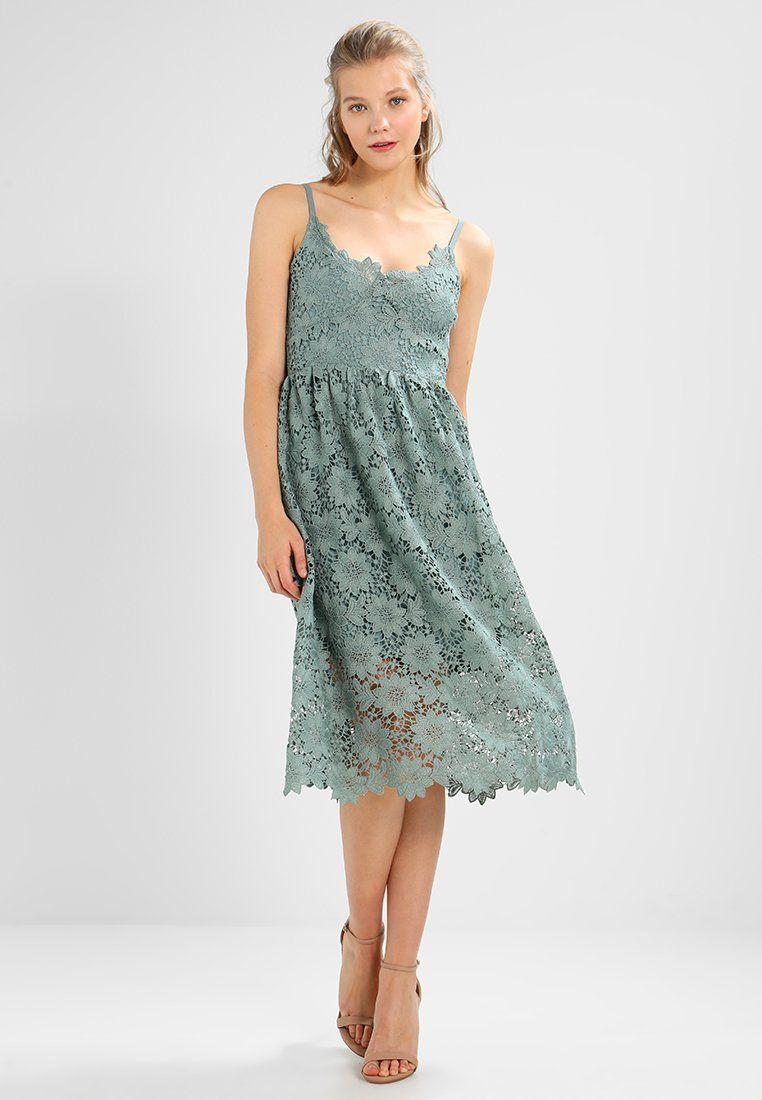 ec99ace48 VMAMY SINGLET DRESS - Robe de soirée - chinois green @ ZALANDO.FR ...