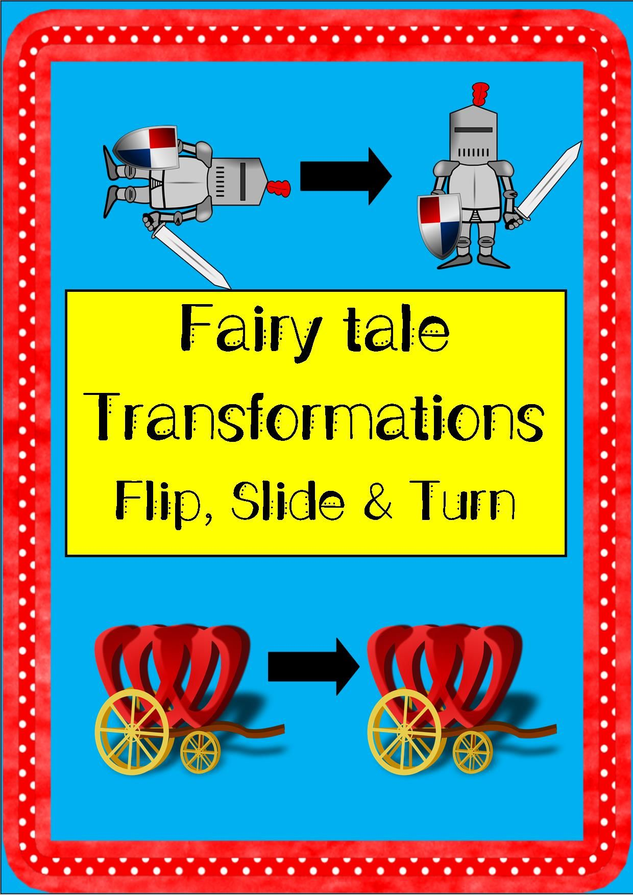 Fairytale Transformation Sort Flip Reflect Slide