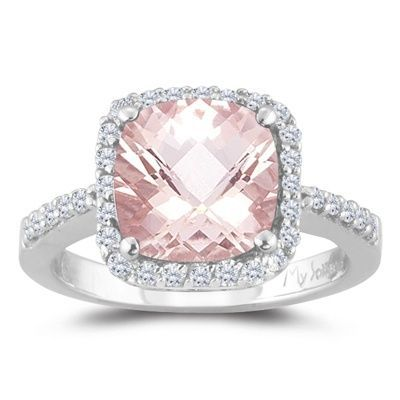 Pink Engagement Ring...thats Awesome Good Looking