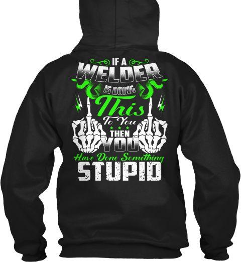 Black Welding Shirt