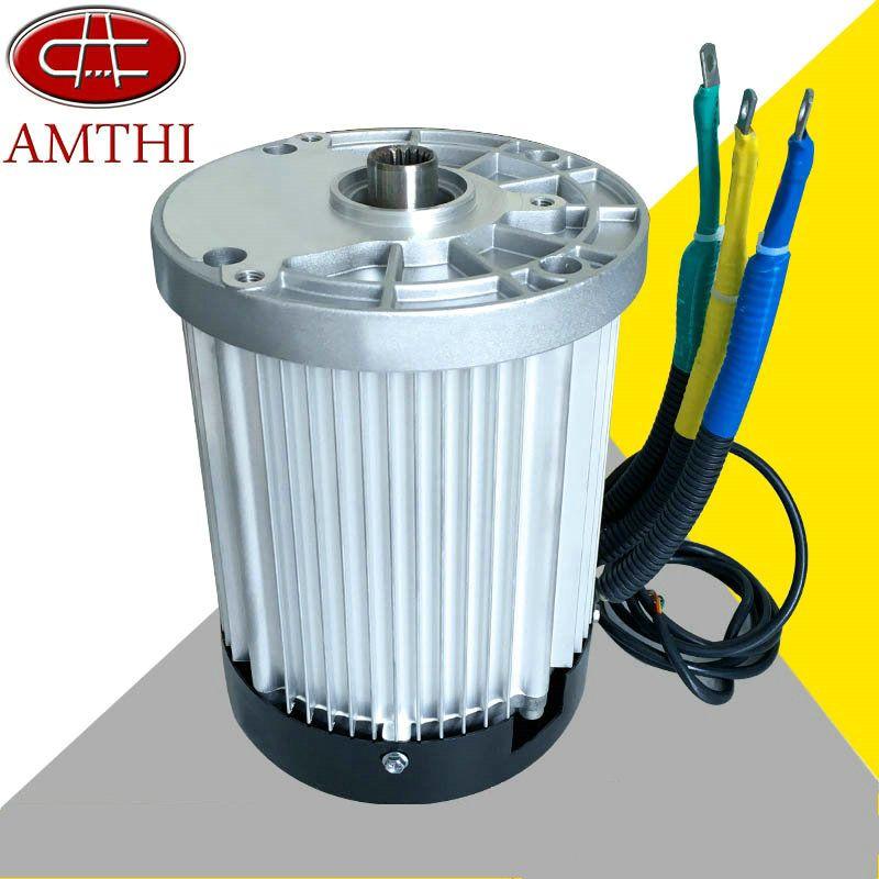 Goedkope 60V3000W 4600 RPM permanente magneet borstelloze DC motor ...