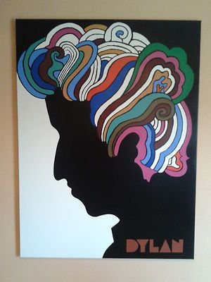 Large scale acrylic tribute to Milton Glaser's 1967 poster...