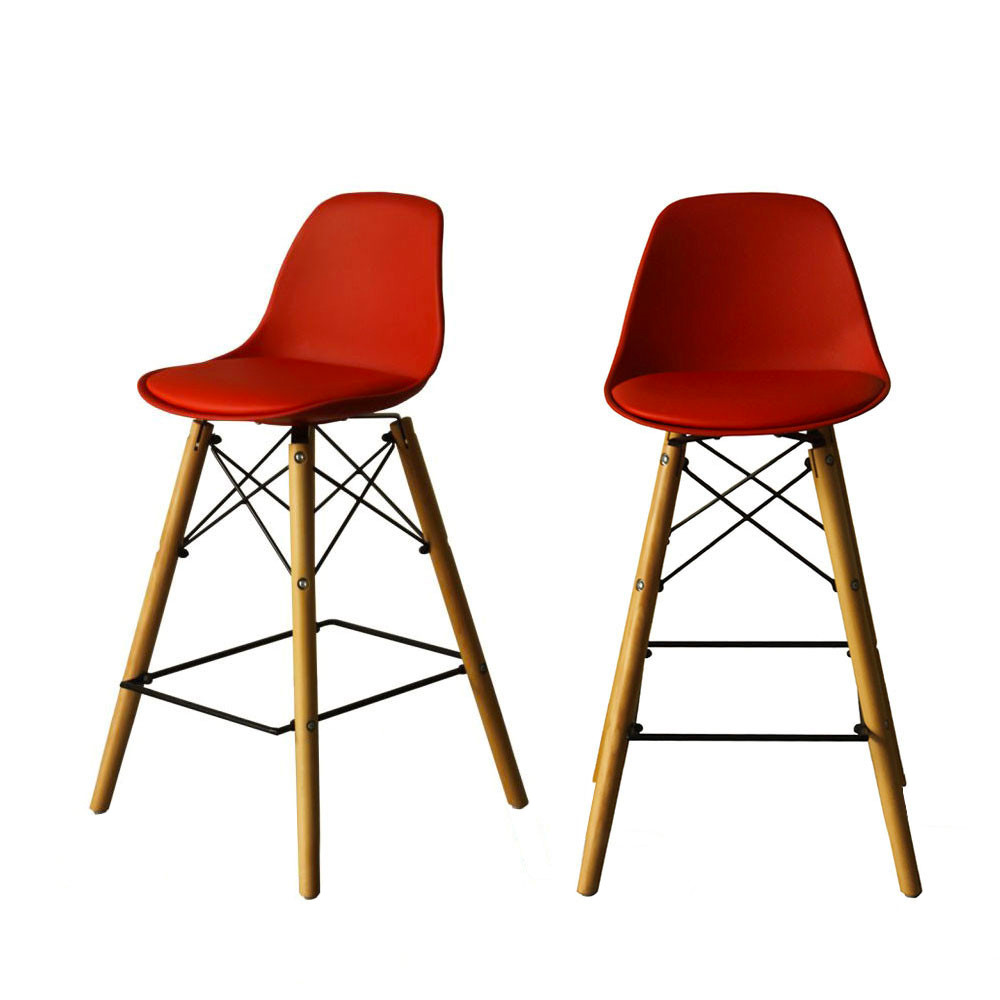 Tabouret De Bar Designer Hauteur 64cm Ormond Steelwood By Drawer Tabouret Scandinave Rouge Bois Tabouret De Bar Chaise De Bar Design Tabouret De Bar Design