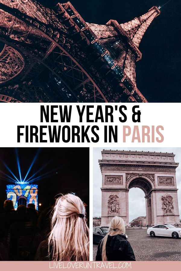Spending New Year's in Paris 2020 2021 Everything You