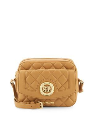 Love Moschino Faux-Leather Crossbody Bag PYitqeAO