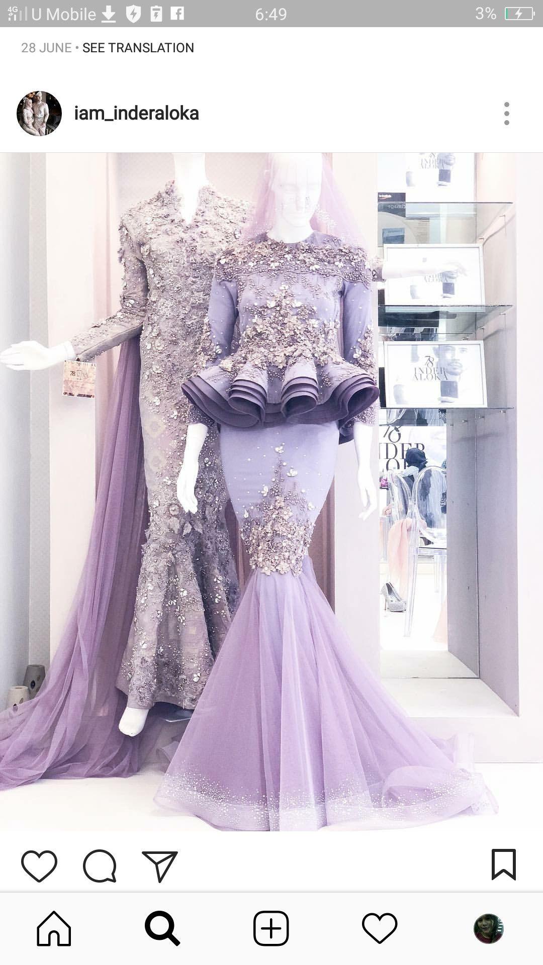 Pin oleh Zaryna Aidel di A Wedding Dresses  Baju pengantin, Gaun